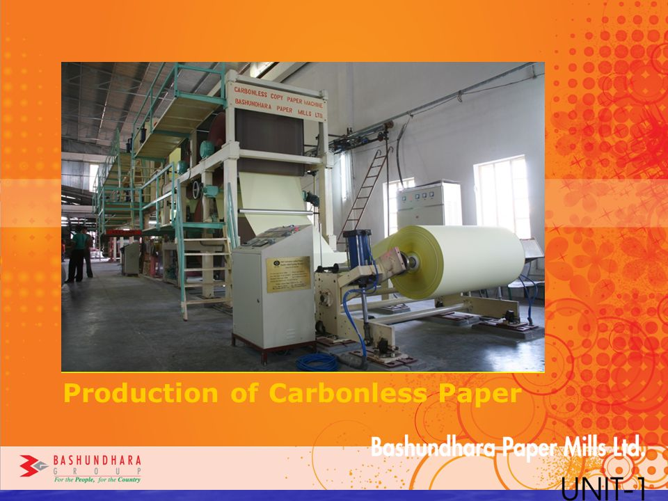 Production of Carbonless Paper