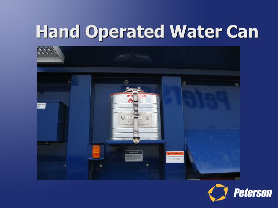 Hand Operated Water Can
