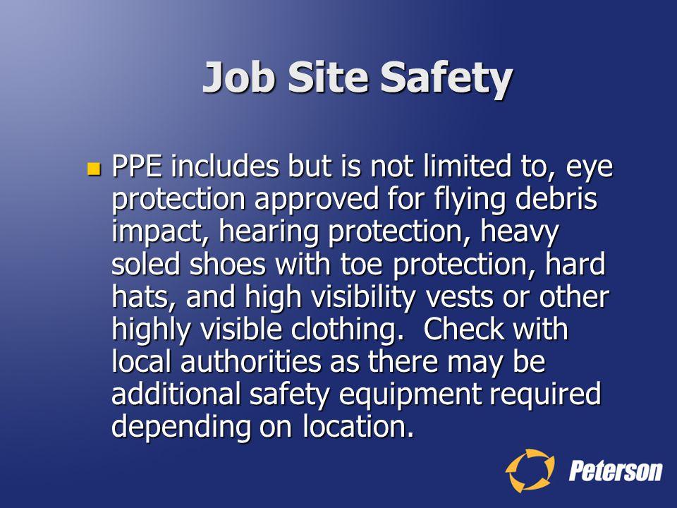 Job Site Safety