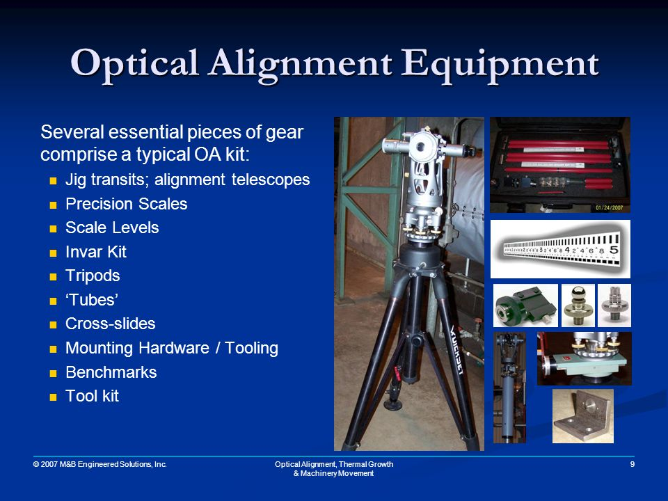 Optical Alignment Equipment