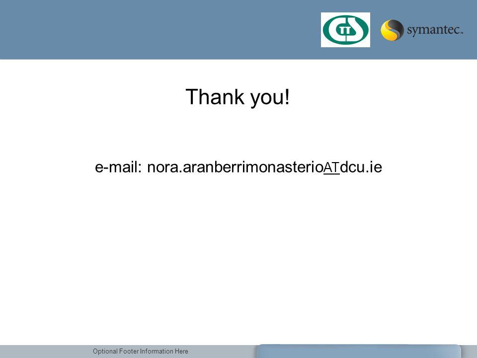 e-mail: nora.aranberrimonasterioATdcu.ie
