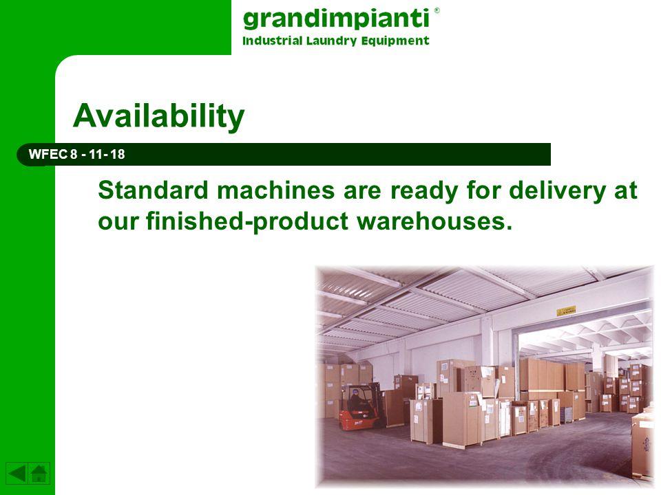 Availability WFEC 8 - 11- 18.
