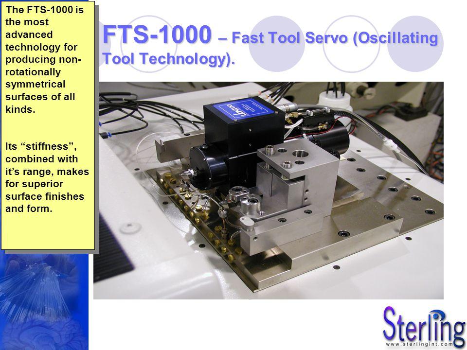 FTS-1000 – Fast Tool Servo (Oscillating Tool Technology).