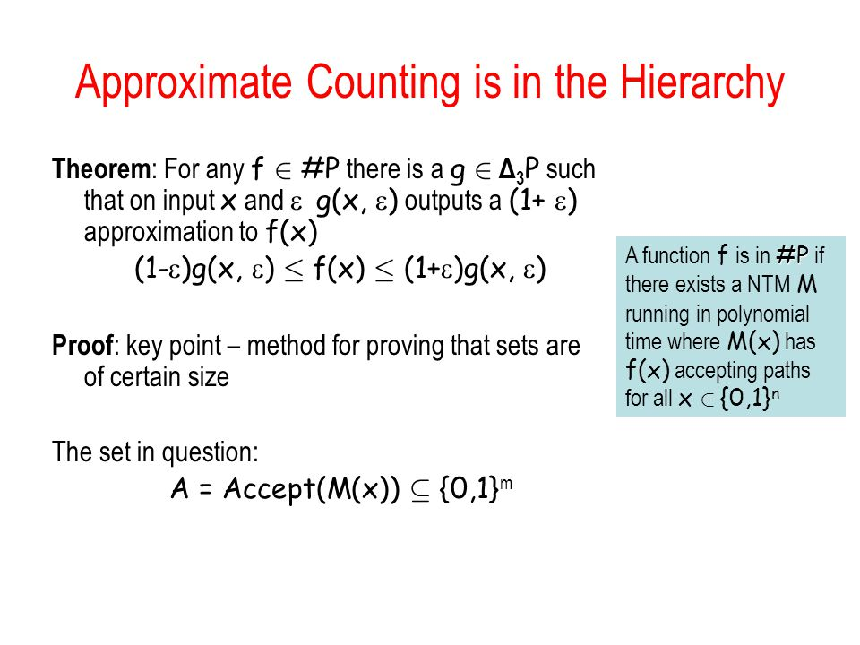 Approximate Counting is in the Hierarchy