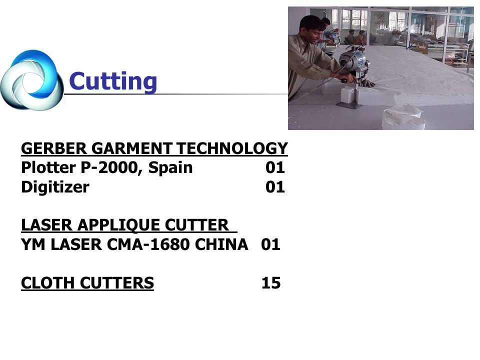 Cutting GERBER GARMENT TECHNOLOGY Plotter P-2000, Spain 01