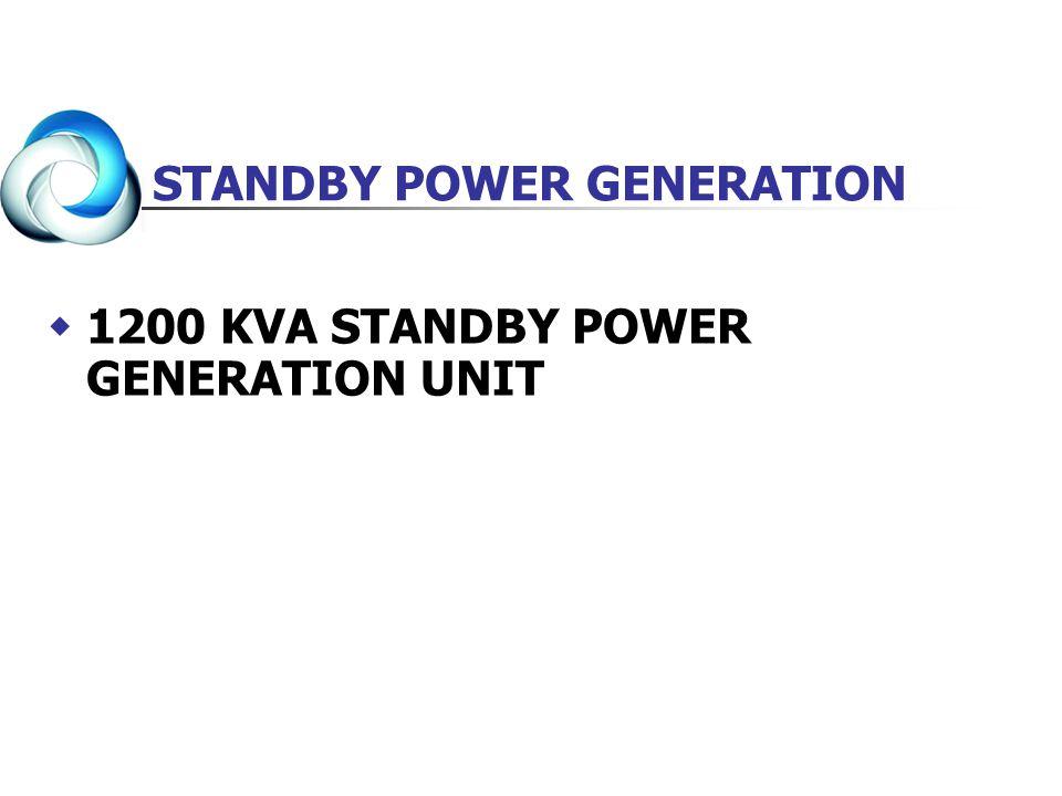 STANDBY POWER GENERATION