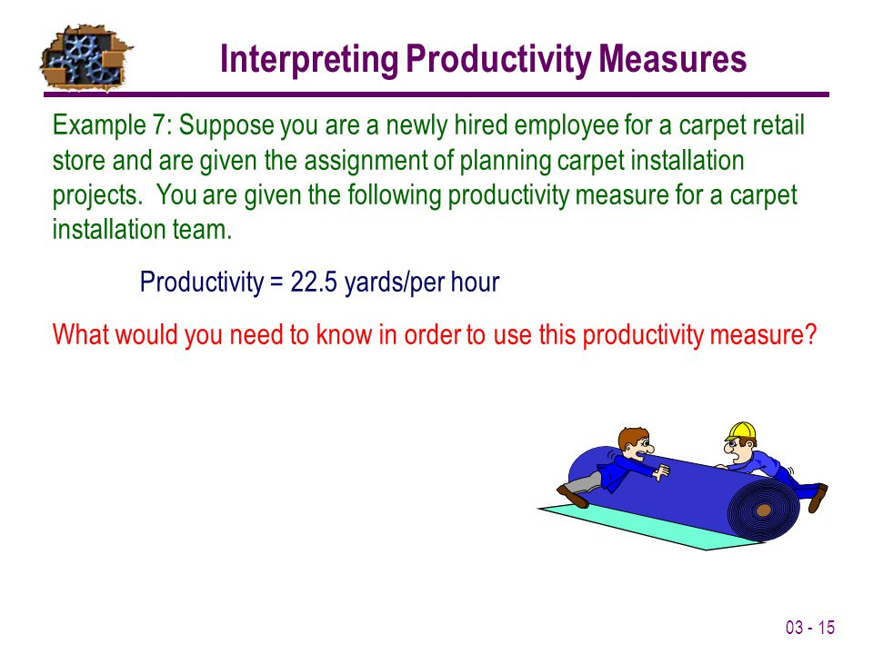 Interpreting Productivity Measures