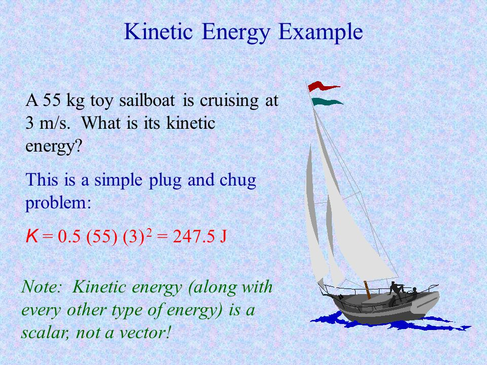 Kinetic Energy Example