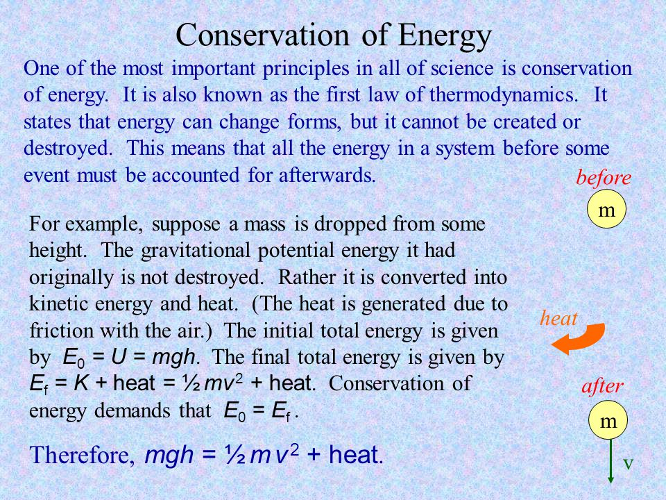 law of conservation of mass and energy pdf