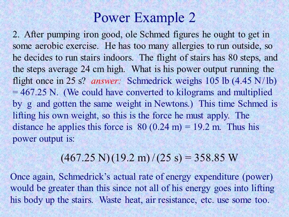 Power Example 2