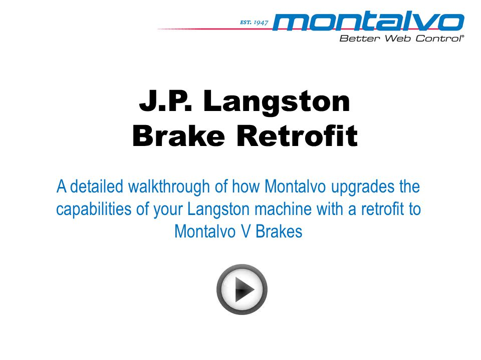 J.P. Langston Brake Retrofit