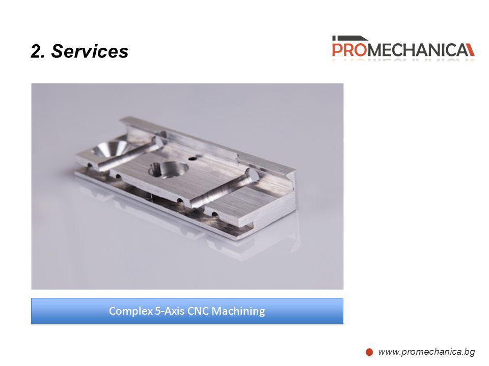 Complex 5-Axis CNC Machining