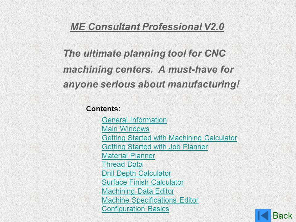ME Consultant Professional V2.0