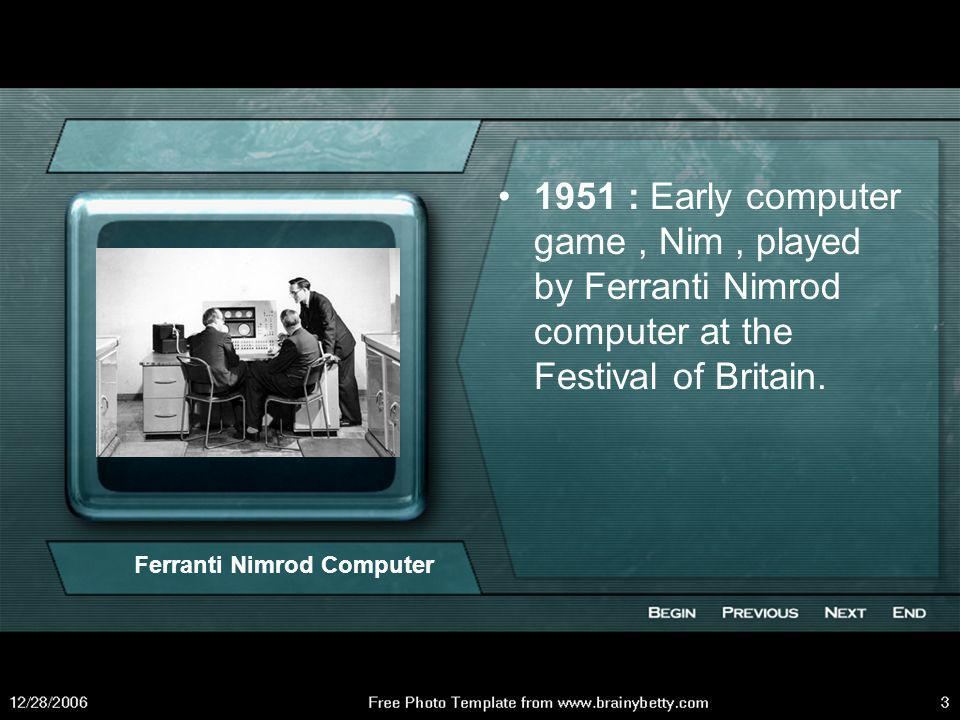 Ferranti Nimrod Computer