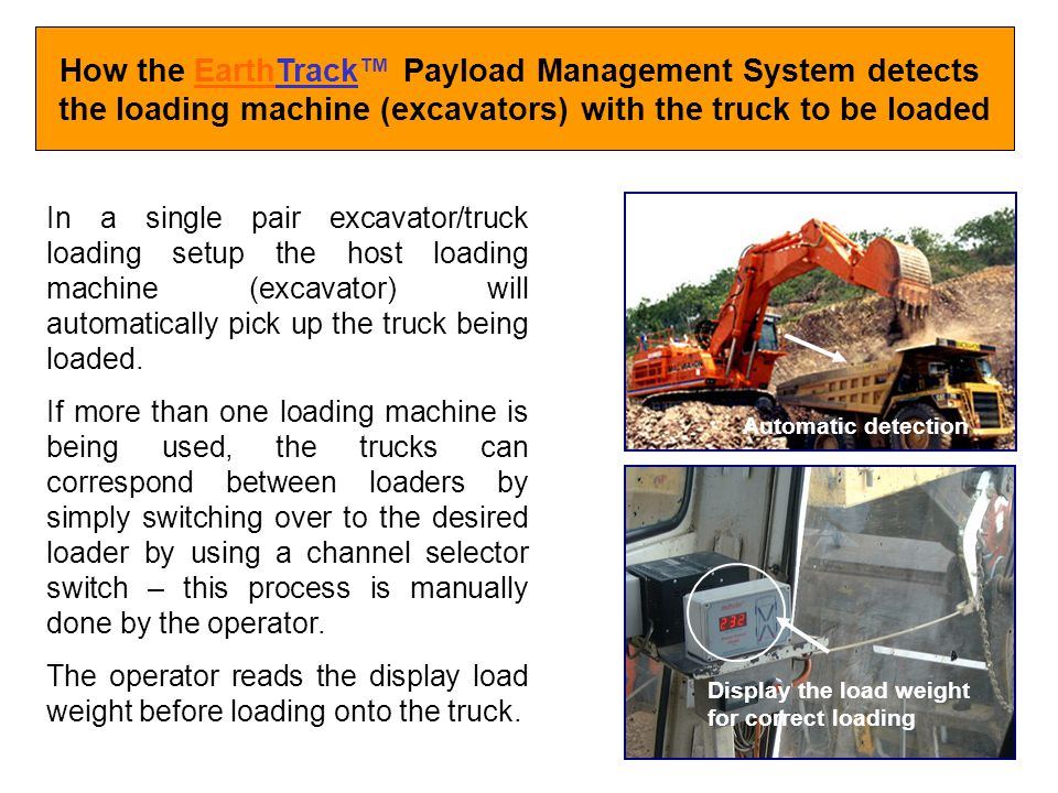How the EarthTrack™ Payload Management System detects