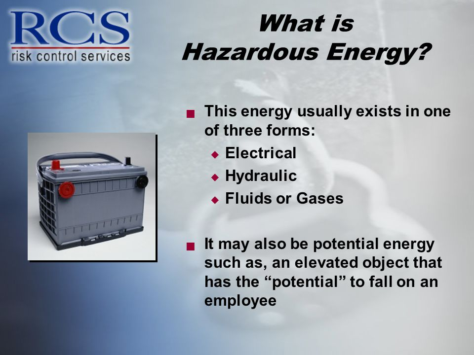 What is Hazardous Energy