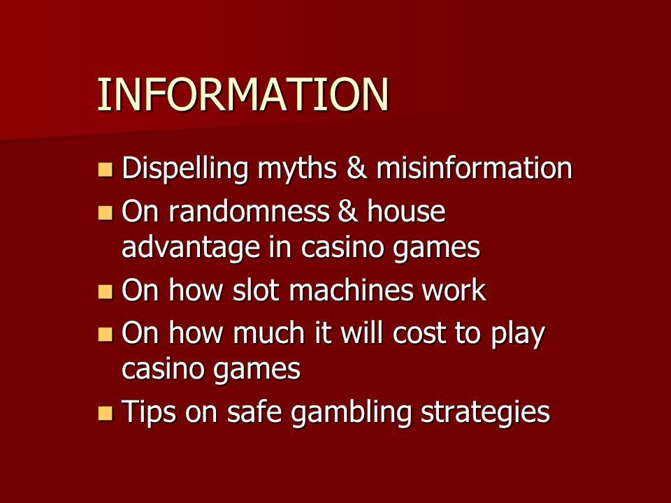 INFORMATION Dispelling myths & misinformation