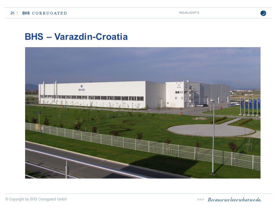 BHS – Varazdin-Croatia