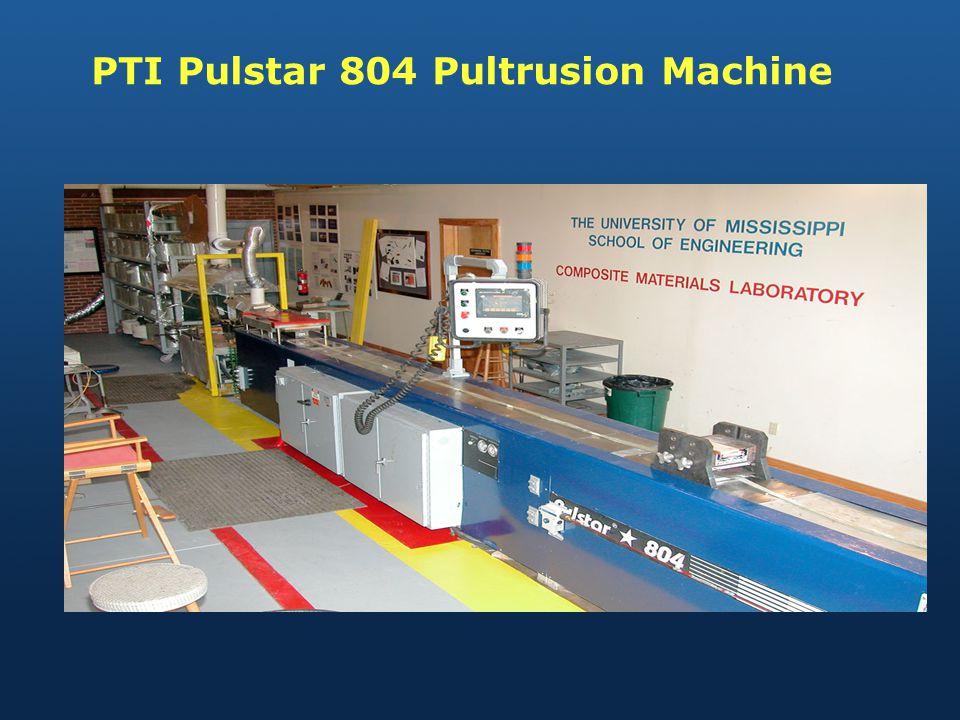 PTI Pulstar 804 Pultrusion Machine