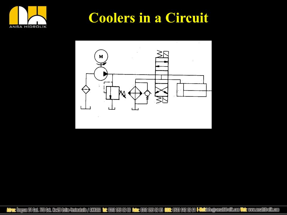 Coolers in a Circuit