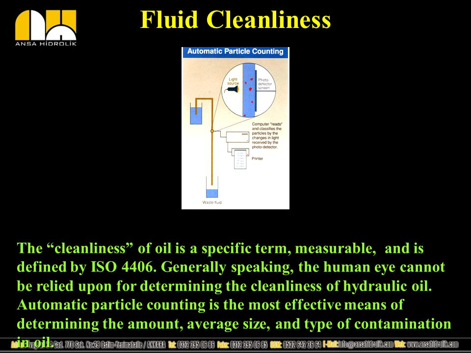 Fluid Cleanliness