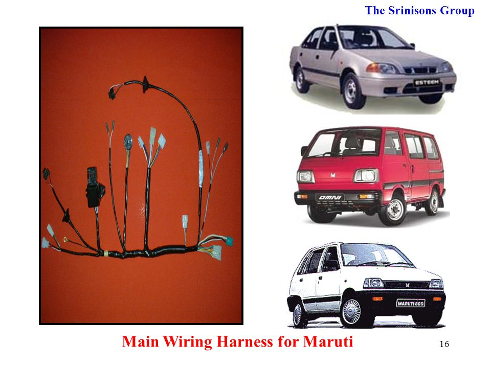 Main Wiring Harness for Maruti