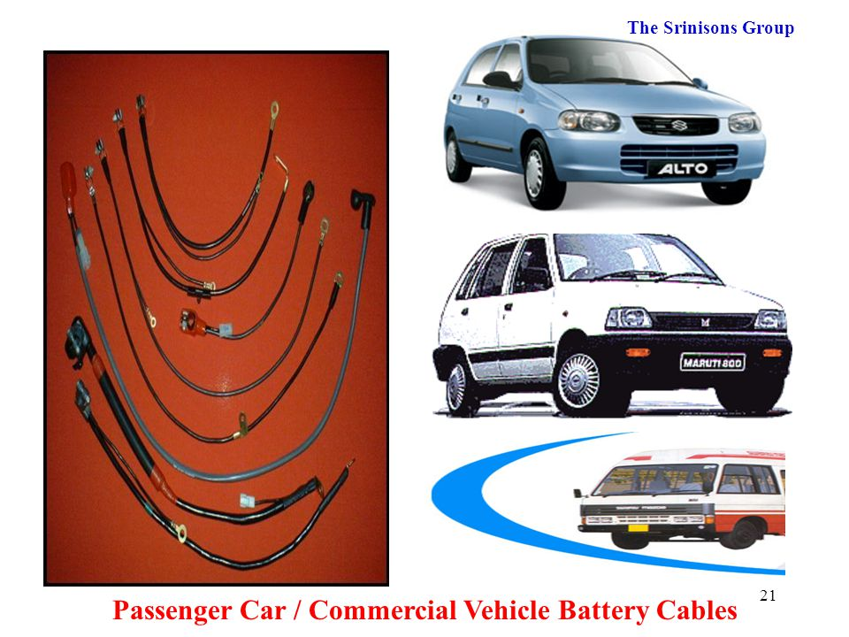 Passenger Car / Commercial Vehicle Battery Cables