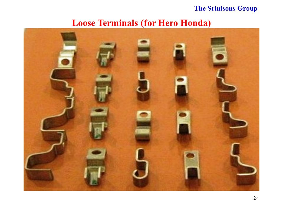 Loose Terminals (for Hero Honda)
