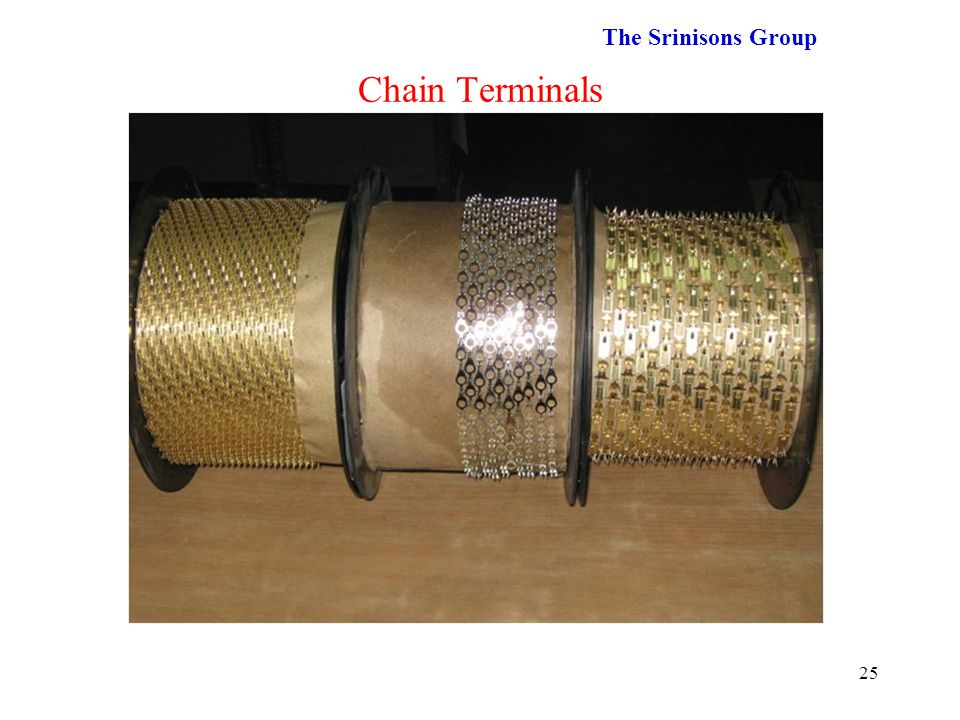 The Srinisons Group Chain Terminals