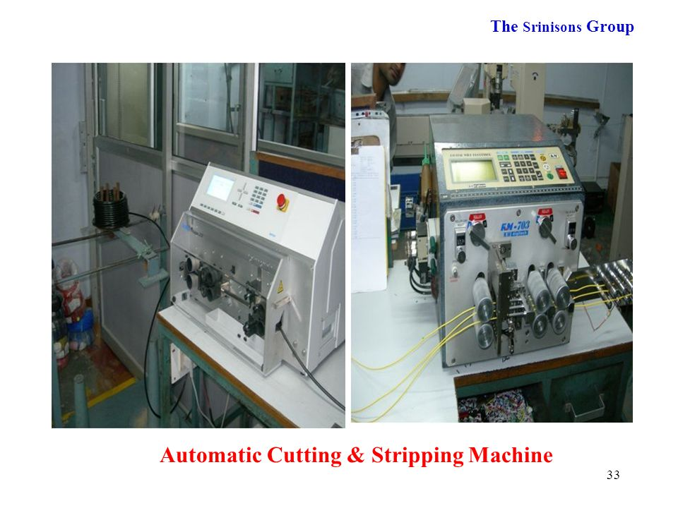 Automatic Cutting & Stripping Machine