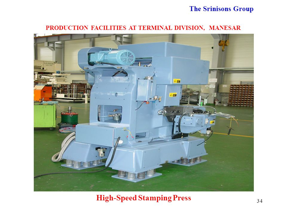 High-Speed Stamping Press
