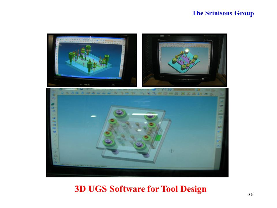 3D UGS Software for Tool Design