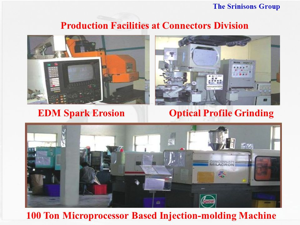 Production Facilities at Connectors Division