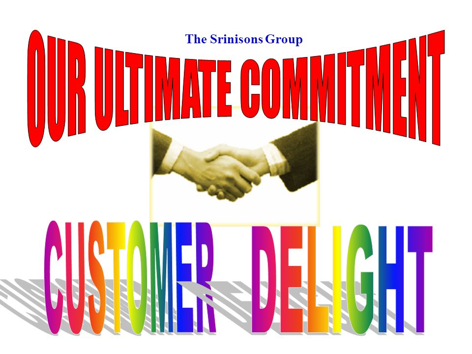 OUR ULTIMATE COMMITMENT