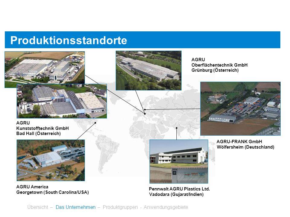 Produktionsstandorte
