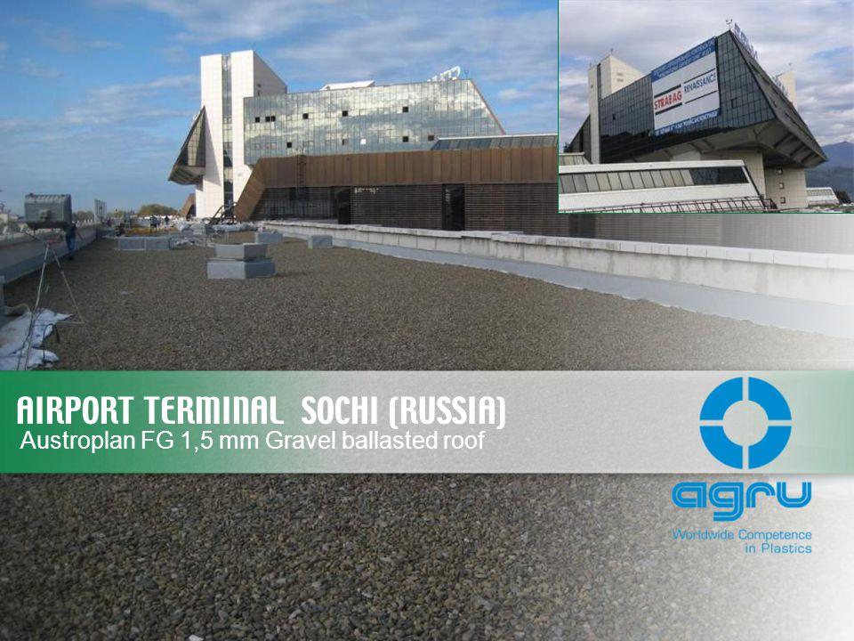 AIRPORT TERMINAL SOCHI (RUSSIA)