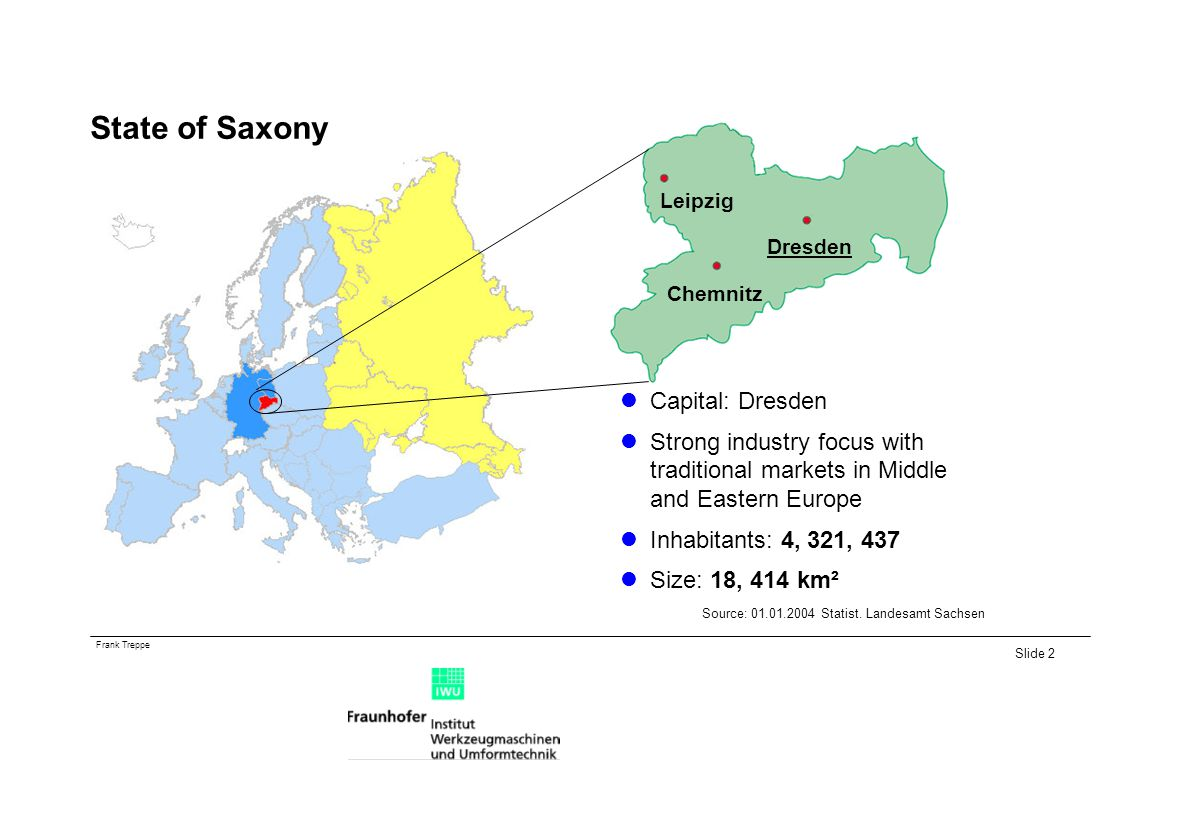 State of Saxony Capital: Dresden
