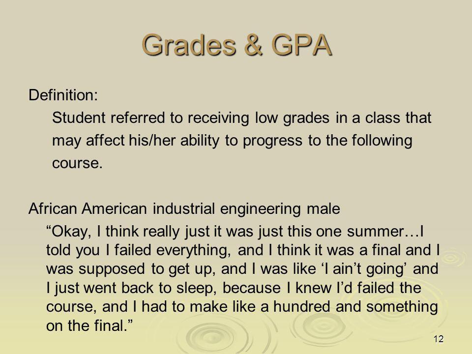 Grades & GPA
