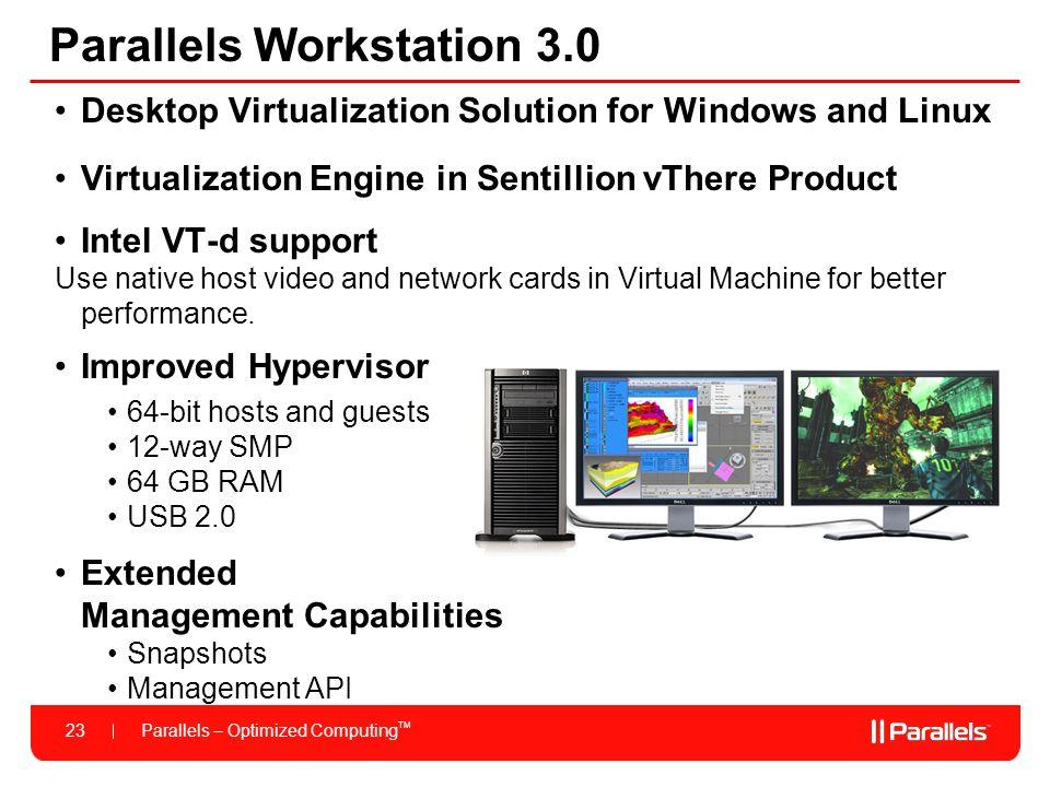 Parallels Workstation 3.0
