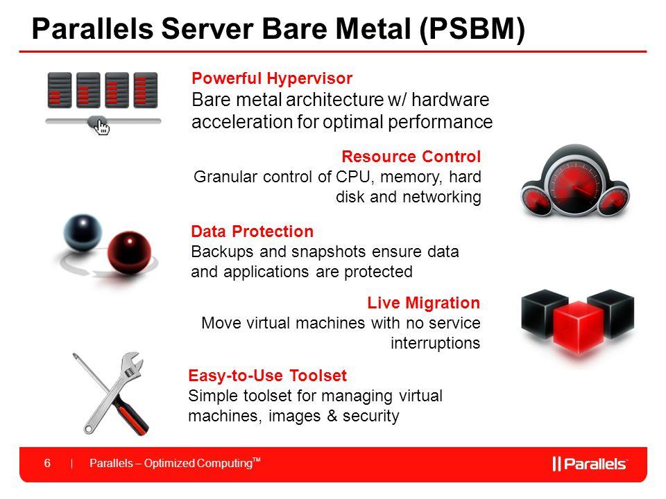 Parallels Server Bare Metal (PSBM)