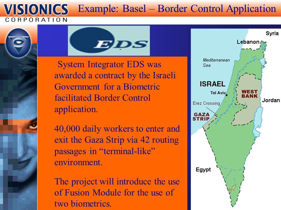 Example: Basel – Border Control Application
