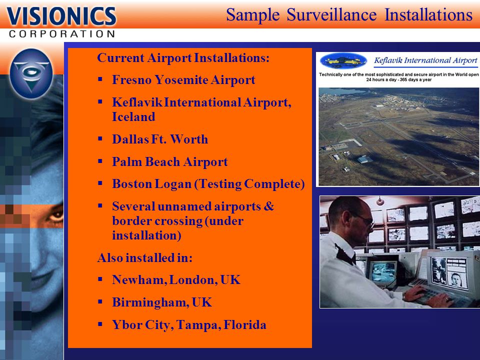 Sample Surveillance Installations