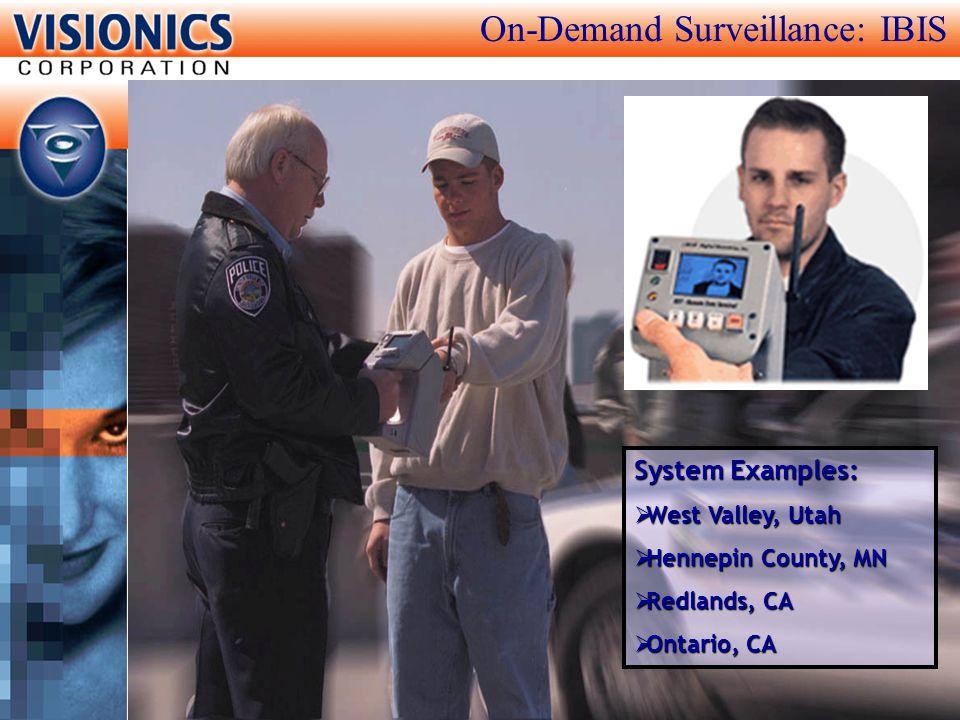 On-Demand Surveillance: IBIS