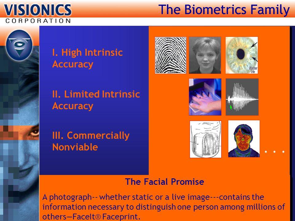 The Biometrics Family The Biometrics Family . . .