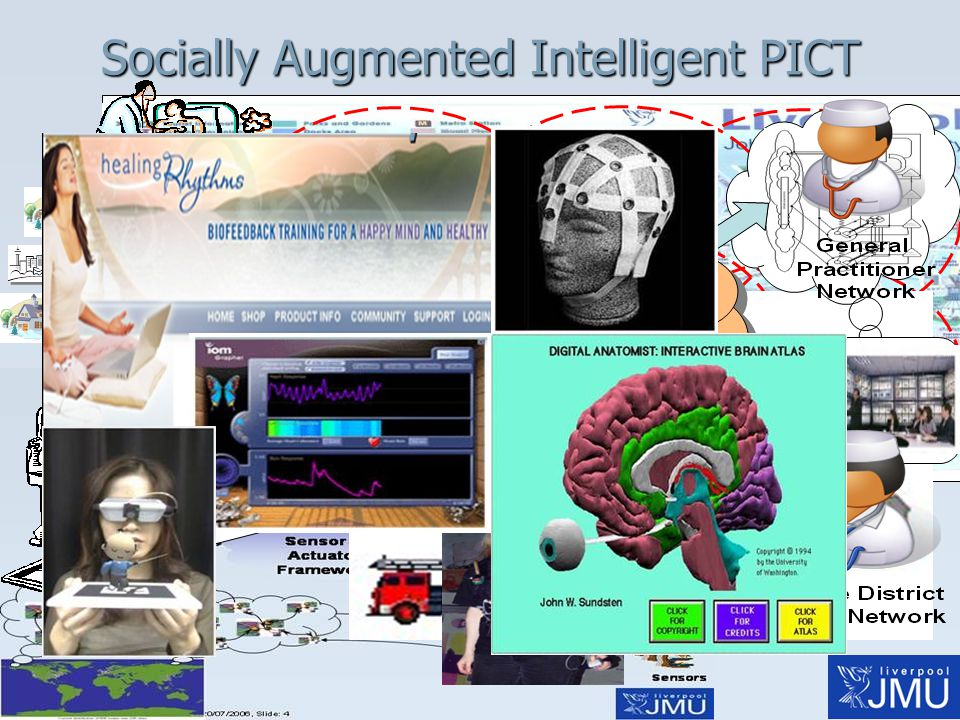 Socially Augmented Intelligent PICT