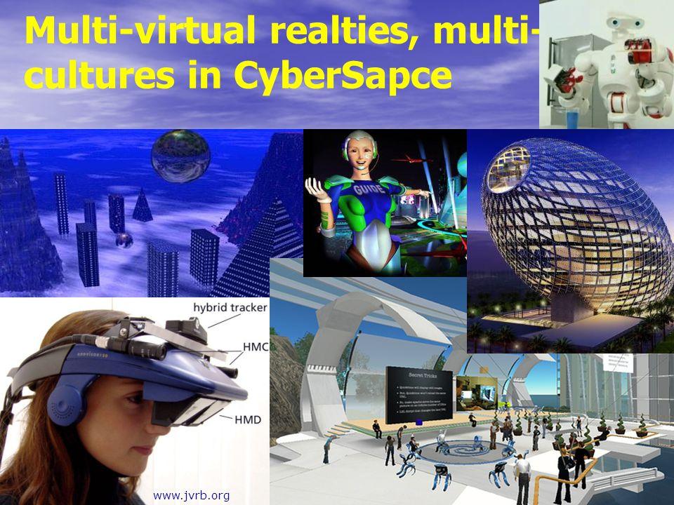 Multi-virtual realties, multi-cultures in CyberSapce