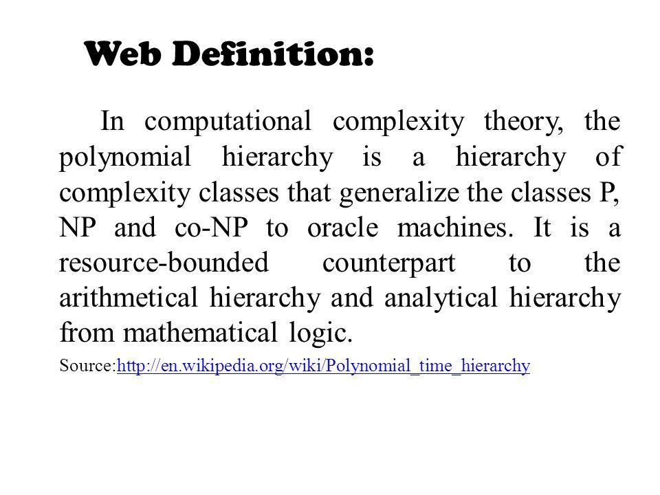 Web Definition: