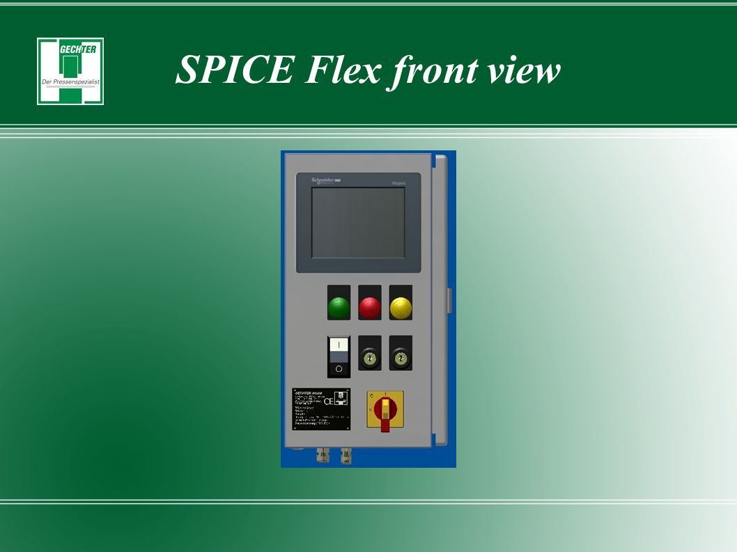 SPICE Flex front view