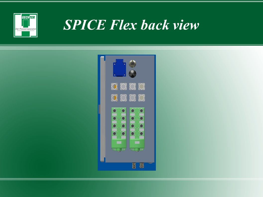 SPICE Flex back view