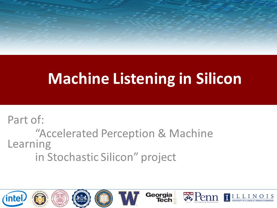 Machine Listening in Silicon